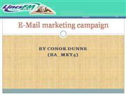 Lincs FM E-mail Marketing Campaign