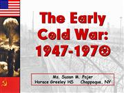 Early ColdWar