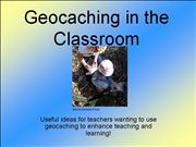 Geocaching in the Classroom