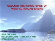 geology and structure of west australian basin