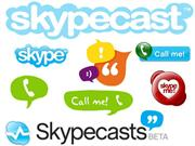 Using Skypecasts for Language Learning