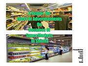 Super Markets of Shimla