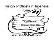 Japanese Ghost Lore