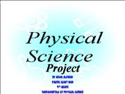 ppt science project