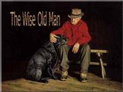 The old Wise Old Man