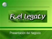 Presentacin de negocio y producto Fuel Legacy
