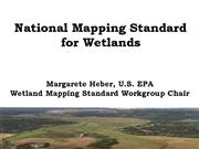 Wetlands Mapping Standard AMFM Presentation May 15
