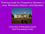 Winery Planning Guide