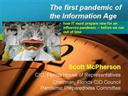 The first pandemic of the information age
