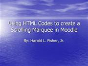 Using The HTML Codes 4