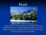 Haiti: the Perfect Vacation