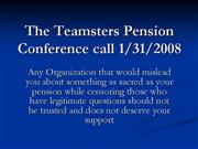 Teamsters Lie to and Censor AMFA Members