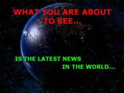 Latest news in the world