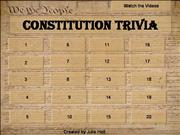 Constitution Day Trivia