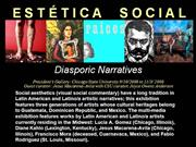 CHICAGO ART SCENE - ESTETICA SOCIAL