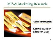 Lecture 8,9 of essentials of Marketing