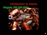 Intro to Atoms
