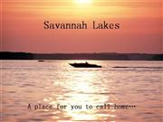 Savannah Lakes