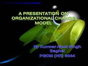 Organizational Change Model by Kunwar Ajeet Singh