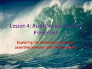 Lesson 4:  Assertiveness and Fall Prevention