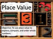 Chapter 1.1 Place Value - Text Only