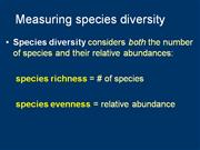 05 measuring species richness