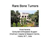 Rare Bone Tumors