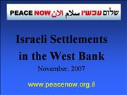 West Bank Settlers