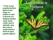 LECCION DE LA MARIPOSA
