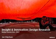 Insight & Innovation: Design Research