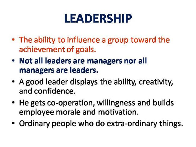 behaviour theories of leadership are static Leadership and followership  behavioural theories focus on leadership as a behavioural pattern  such as the leader behaviour description questionnaire.