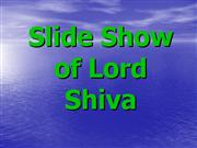 Slide Show of Lord Shiva