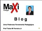 Palestra sobre blogs