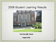 Student Achievement Results