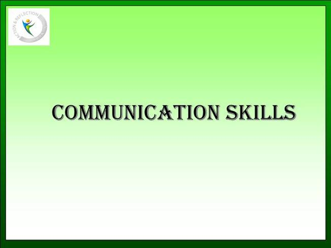 Communication Skill Authorstream