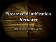 Firearms Identification Reviewer