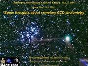 Some thoughts about cometary CCD photometry