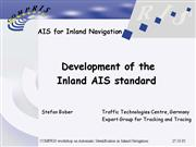 tracking and tracing development of inland ais sta