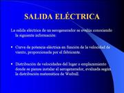 Determinacion de salida Electrica
