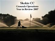 SCC Year in Review Presentation 2007