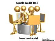 Oracle Audit Trail