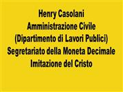 Henry and Inez Casolani - Italian ppt chp 4