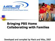 Steve Vitto Positve Home School Partnerships