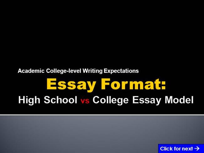 College essay writing powerpoint | Do My Homework - Essays-Uk