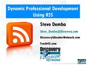 Dynamic Professional Development with RSS