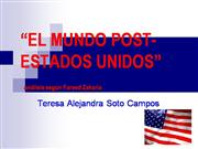 el mundo post estados unidos