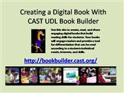 Creating a Digital Book With CAST Builder