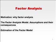 8323 Factor Analysis 1 Intro