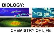 Chemistry of Life