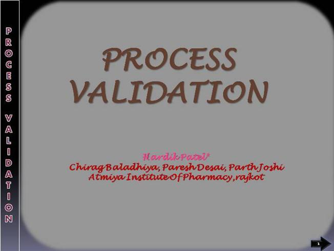 Pharmaceutical Process Validation By Nash Pdf